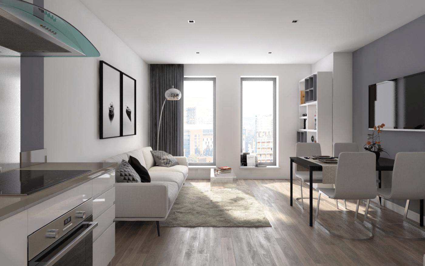 Luton Apartment Interior Resize