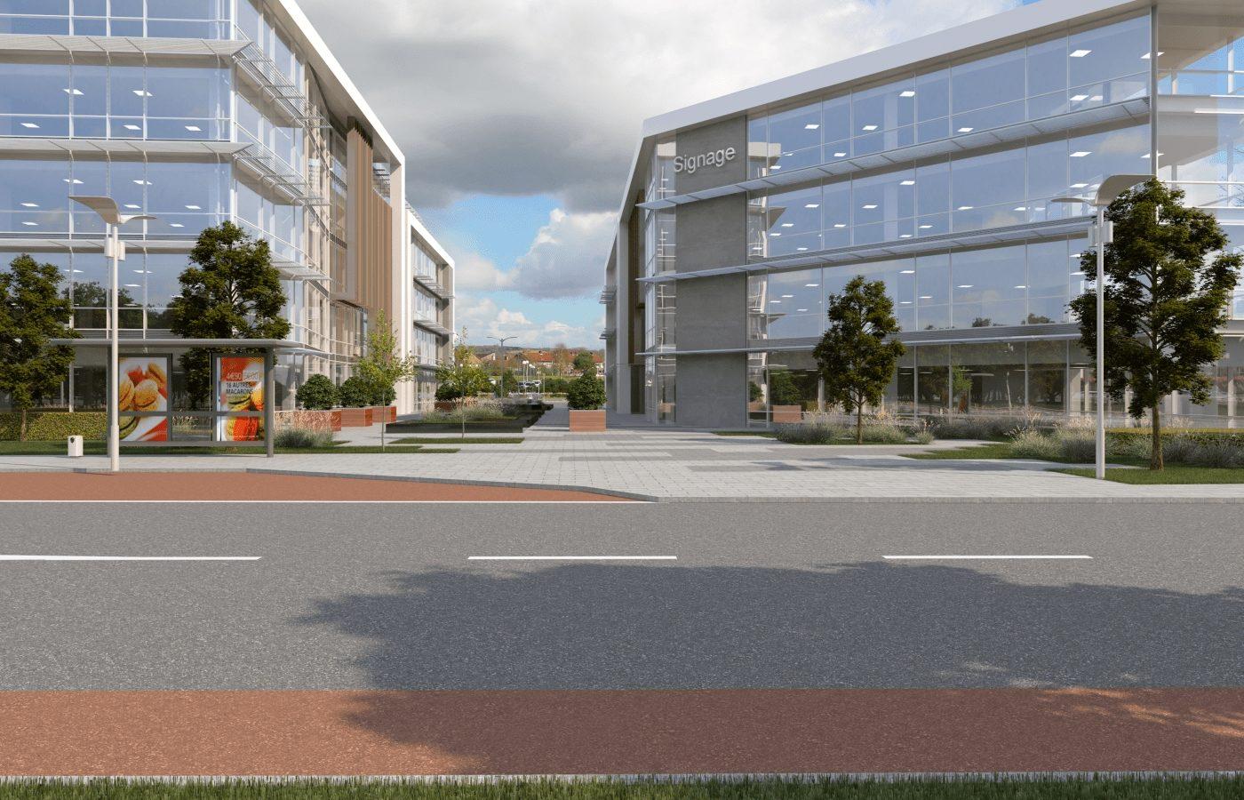 Citygate Plaza, After, Resize