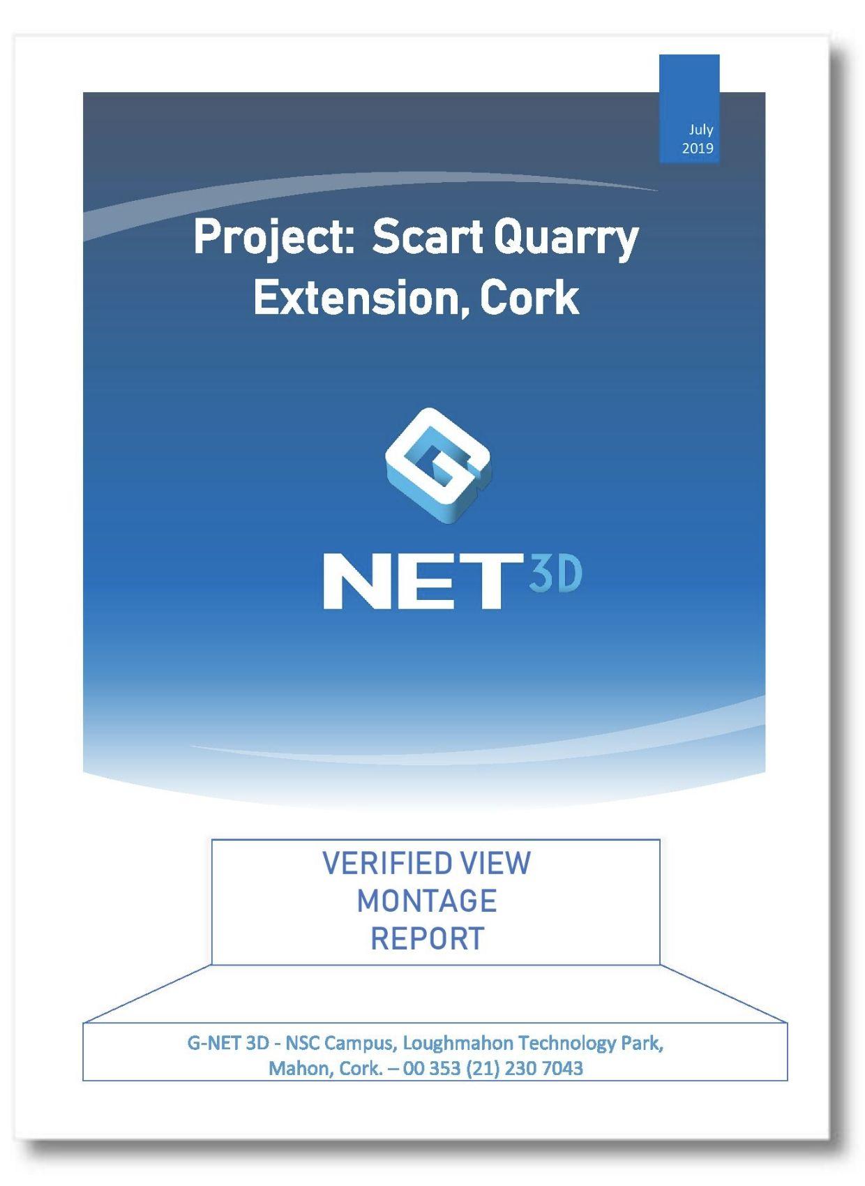 Scart Quarry Photomontage report